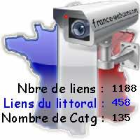 France Webcam, les webcams de France, par région, département, animaux, littoraux, trafic routier, ...