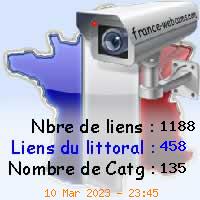 Logo de France Webcam, les webcams de France, par région, département, animaux, littoraux, trafic routier, ...