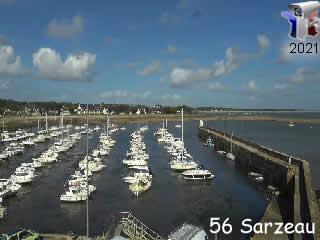 Webcam en direct du port de Saint-Jacques à Sarzeau - via france-webcams.com