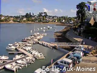 Webcam ILE-AUX-MOINES LIVE - via france-webcams.com