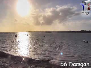 Damgan en vidéo panoramique - via france-webcams.com