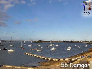 Damgan le port de Pénerf - via france-webcams.com