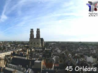 Webcam Orléans - Beffroi - via france-webcams.com