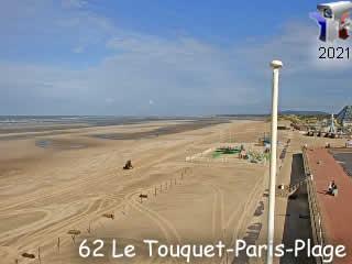 Webcam Le Touquet - Vue Nord - via france-webcams.com