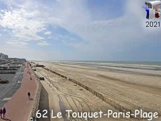 Le Touquet - Vue Sud - via france-webcams.com