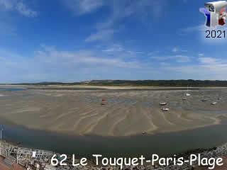 Webcam Le Touquet - Centre Nautique de la Baie de Canche - via france-webcams.com