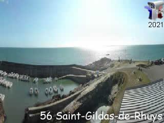 Saint-Gildas-De-Rhuys panoramique HD  - via france-webcams.com