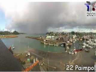 Webcam Paimpol panoramique HD - via france-webcams.com