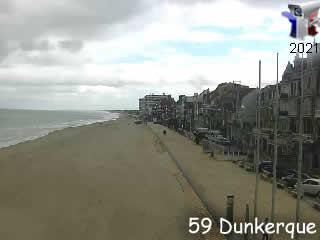 La webcam HD touristique live et différée de dunkerque en live - via france-webcams.com