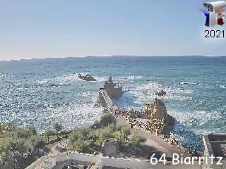 Webcam Biarritz - Nouvelle-Aquitaine - France - Vision-Environnement - via france-webcams.com