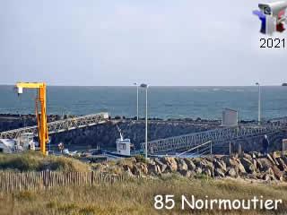 Webcam Noirmoutier - Port de Morin - Pays de la Loire - via france-webcams.com