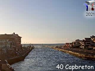 Webcam du port de Capbreton - Département des Landes - via france-webcams.com