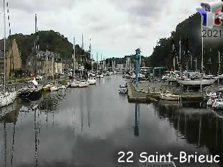Webcam Saint-Brieuc - le port - via france-webcams.com