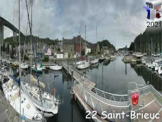 Webcam Saint-Brieuc - panoramique HD - via france-webcams.com