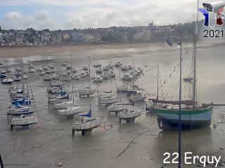 Webcam Erquy - Bretagne - via france-webcams.com
