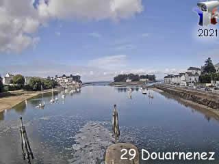 Webcam de Douarnenez - le Port Rhu - via france-webcams.com