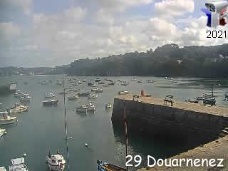 Webcam Douarnenez - Le Port Rosmeur - via france-webcams.com