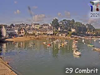 Webcam du port de Combrit - via france-webcams.com