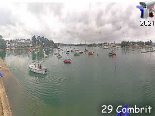 Webcam Combrit en panoramique HD - via france-webcams.com