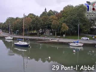 Webcam Pont-l'Abbé - Live - via france-webcams.com