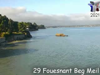 Webcam de Fouesnant - Beg Meil - via france-webcams.com