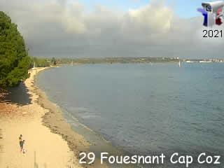 Webcam de Fouesnant - Cap Coz - via france-webcams.com