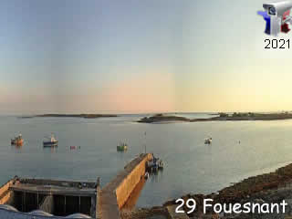 Fouesnant - Île Saint-Nicolas des Glénan - via france-webcams.com