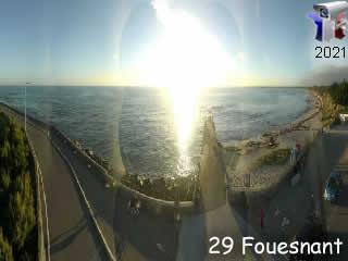 Webcam de Fouesnant panoramique HD - via france-webcams.com