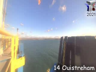 Diabox - Port de Ouistreham - Passerelle d'Embarquement - via france-webcams.com
