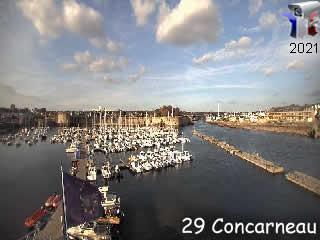 Diabox - Port de Plaisance de Concarneau - Cam 1 - via france-webcams.com