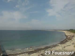 Fouesnant - La pointe de mousterlin - via france-webcams.com