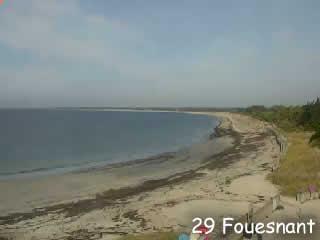 Fouesnant - La pointe de mousterlin en live - via france-webcams.com