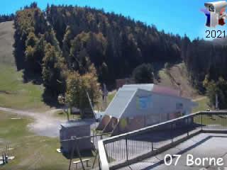 Webcam Croix de Bauzon - Vallon Tourisme - via france-webcams.com