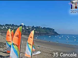 Webcam Cancale - Bretagne - Vision-Environnement - via france-webcams.com