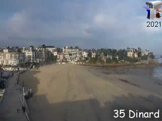 Dinard - La plage - via france-webcams.com