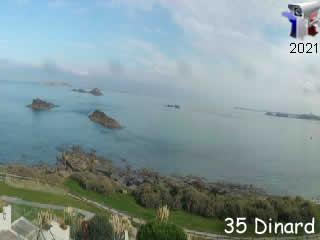 Dinard - Panoramique HD - via france-webcams.com