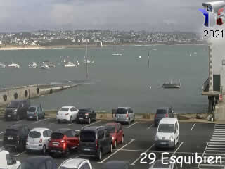 Webcam Esquibien - Bretagne - via france-webcams.com
