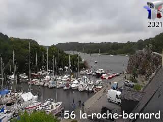 Webcam La Roche-Bernard - Entrée du port - via france-webcams.com