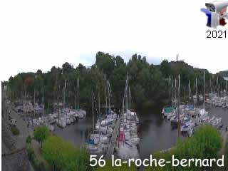 Webcam La Roche-Bernard - Panoramique HD - via france-webcams.com