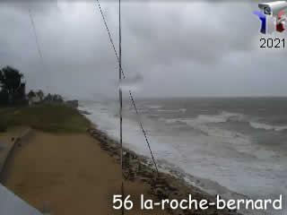 Webcam La Roche-Bernard - Panoramique vidéo - via france-webcams.com