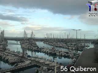Webcam Quiberon - Port Haliguen - via france-webcams.com