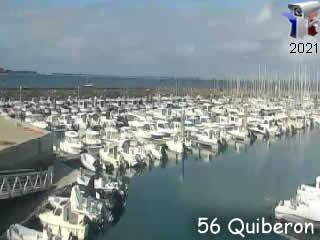 Webcam Quiberon - Port Haliguen - Live - via france-webcams.com