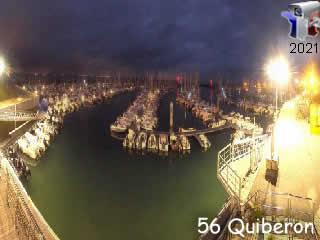 Webcam Quiberon - Port Haliguen - Panoramique HD - via france-webcams.com