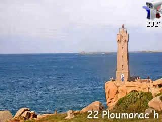 Webcam Ploumanac'h - Bretagne - Vision-Environnement - via france-webcams.com