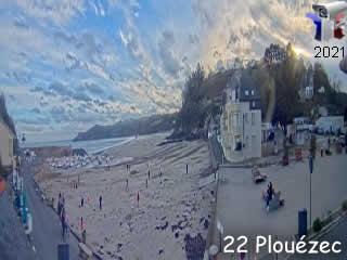 Webcam Plouézec - Bréhec - Bretagne - France - Vision-Environnement - via france-webcams.com