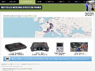 Webcam Autoroute, les caméras le long des routes en France - via france-webcams.com