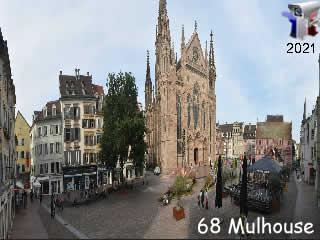 Webcam de la Ville de Mulhouse - via france-webcams.com