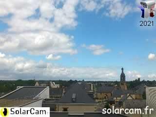 Webcam l'Huisserie (Mayenne-53) fr - SolarCam: caméra solaire 3G. - via france-webcams.com