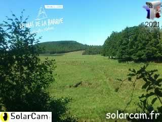 Webcam la plaine de la Sénégrère - via france-webcams.com