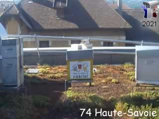 Haute-Savoie Habitat : Les ruches - ID N°: 5 sur france-webcams.com